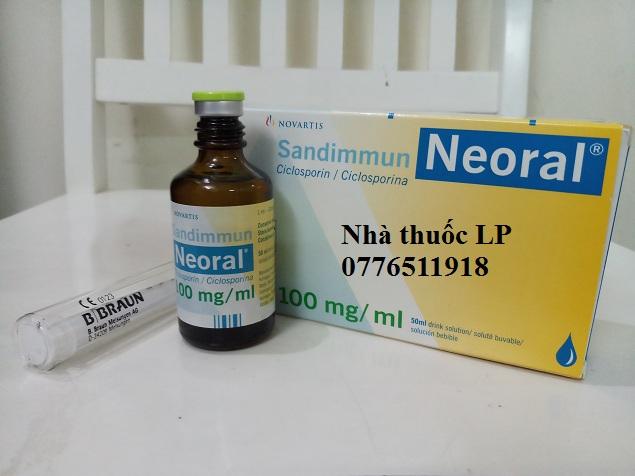 Thuốc Neoral 25mg và 100mg Ciclosporin chống thải ghép tạng (3)