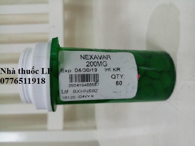 Thuốc Nexavar 200mg Sorafenib điều trị ung thư gan, thận, tuyến giáp (3)