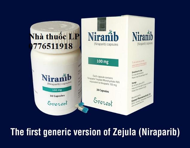 Thuốc Niranib 100mg Niraparib điều trị ung thư buồng trứng (3)