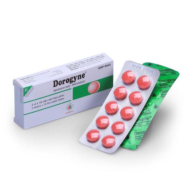 Thuốc Dorogyne phòng và điều trị các bệnh nhiễm khuẩn răng miệng