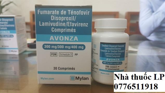 Thuốc Avonza 300mg/300mg/400mg Tenofovir, Lamivudine, Efavirenz điều trị nhiễm HIV (3)