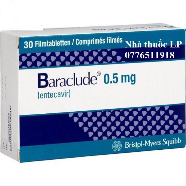 Thuốc Baraclude 0.5mg Entecavir điều trị virus viêm gan B (4)