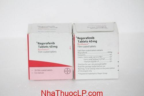 Thuốc Resihance 40mg Regorafenib điều trị ung thư gan, trực tràng (4)
