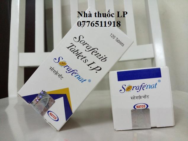 Thuốc Sorafenat 200mg Sorafenib điều trị ung thư gan, thận, tuyến giáp (3)
