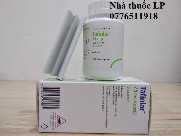 Thuốc Tafinlar 75mg Dabrafenib điều trị ung thư da, ung thư phổi (3)