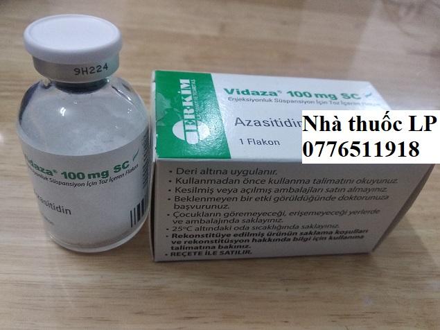 Thuốc Vidaza 100mg Azacitidine điều trị các bệnh ung thư tủy xương, suy tủy, bạch cầu mãn tính (2)