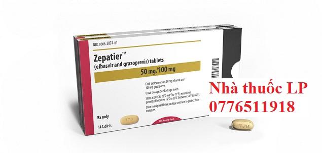 Thuốc Zepatier 50mg/100mg Elbasvir và Grazoprevir điều trị viêm gan C (2)