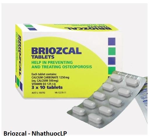 Lợi ích của Briozcal