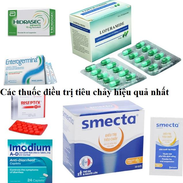 Các thuốc điều trị tiêu chảy hiệu quả nhất