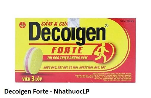 Lợi ích của Decolgen Forte
