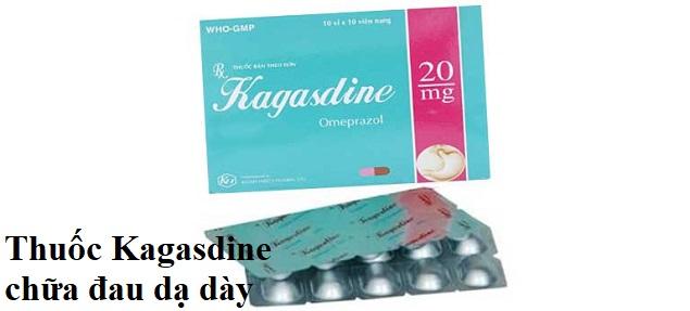 Thuốc Kagasdine chữa đau dạ dày