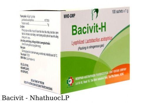 Lợi ích của Bacivit