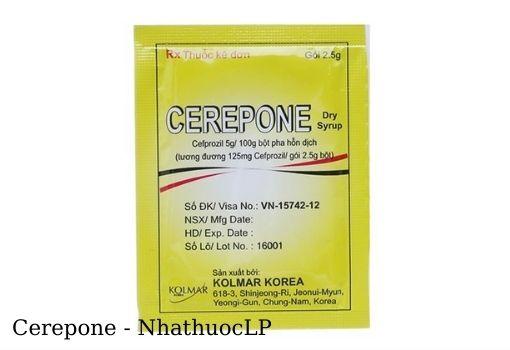 Lợi ích của Cerepone